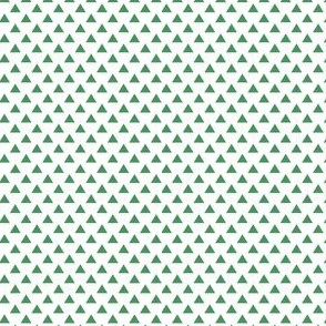 triangles kelly green