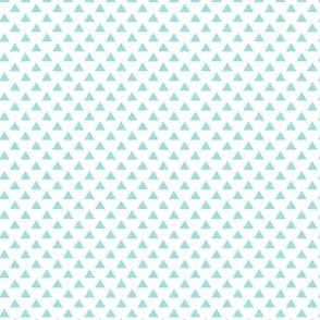 triangles light teal