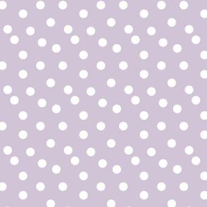 Polka Dots - Lavender by Andrea Lauren