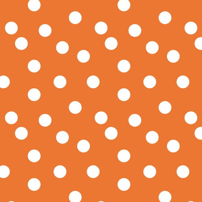 Polka Dots - Orange by Andrea Lauren