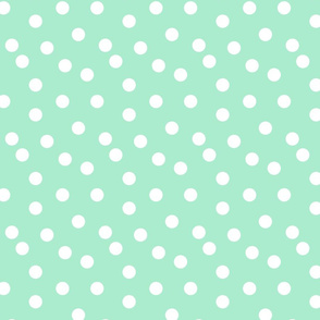 dots // dot sweet mint nursery baby kids cute baby nursery mints