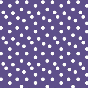 Polka Dots - Plum by Andrea Lauren