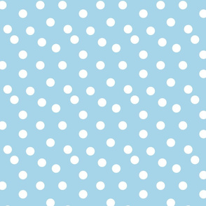 Polka Dots - Sky Blue by Andrea Lauren