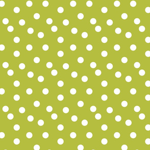 Polka Dots - Celery by Andrea Lauren