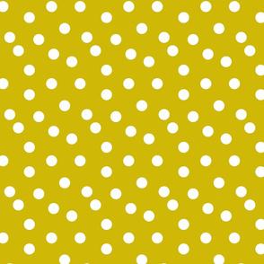 Polka Dots - Goldenrod