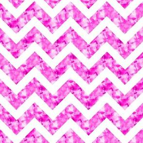 Dreamy Pink Marble Chevron Zig Zag Stripe Paris Bebe Med