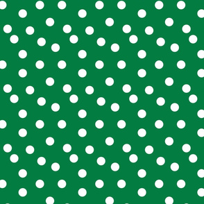 Polka Dots - Kelly Green by Andrea Lauren