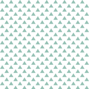 triangles faded teal