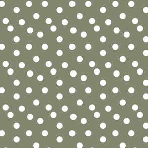 Polka Dots - Olive by Andrea Lauren