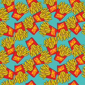 Would you like fries with that? Small teal