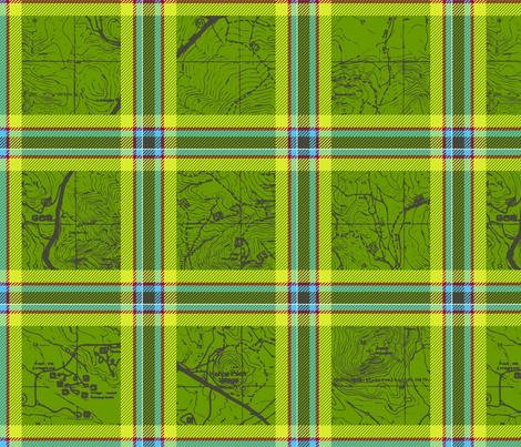 Hiking Trails fabric by thecalvarium on Spoonflower - custom fabric
