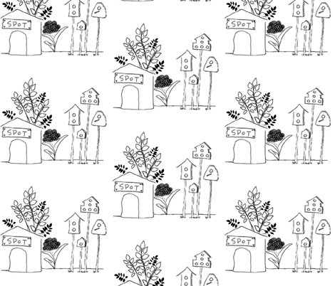 scene-ed fabric by egcom on Spoonflower - custom fabric