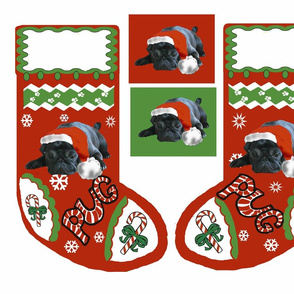 black__pug_christmas_stocking