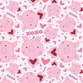 Valentine Piggy