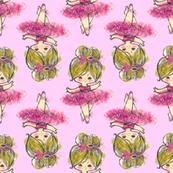 Fancy Schmancy Ballerina Pink TUTU Paris bebe