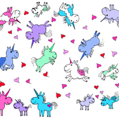 Cartoon Unicorns