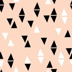 Triangles Coordinate - Blush by Andrea Lauren