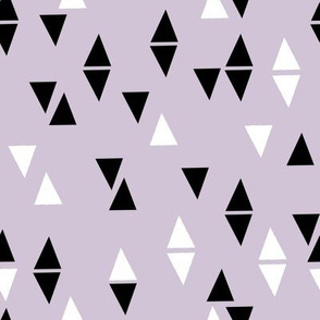 Triangles Coordinate - Lavender by Andrea Lauren