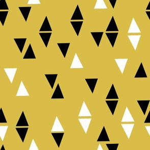 Triangles Coordinate - Mustard by Andrea Lauren