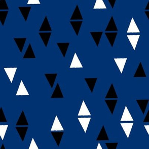 Triangles Coordinate - Navy by Andrea Lauren