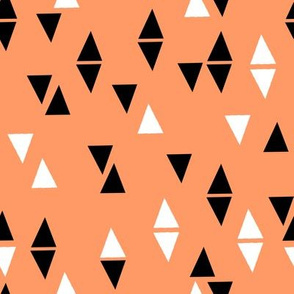 Triangles Coordinates - Tangerine by Andrea Lauren