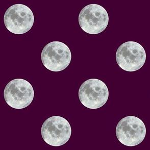 burgundy moon