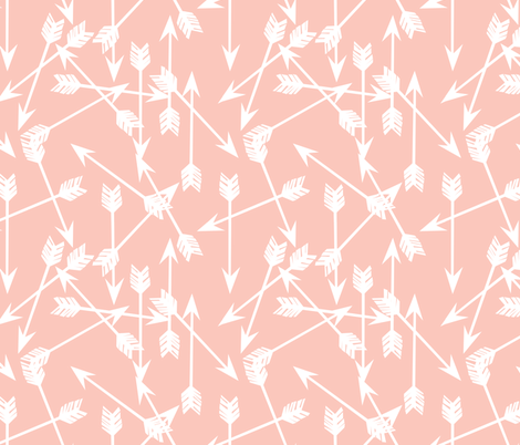 Arrows - Pale Pink by Andrea Lauren