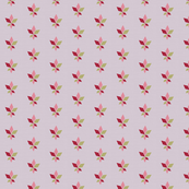 Maple Leaf_Motif_Red Green Pink