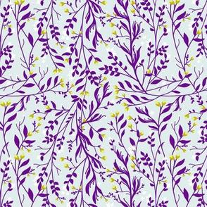 Tangled_Purple Vine Lime Blossom