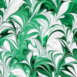 Emerald-White-Swirl
