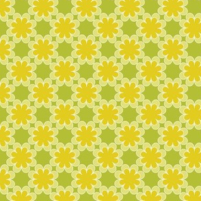 lime and puke floral