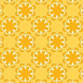 bold orange flowers 1