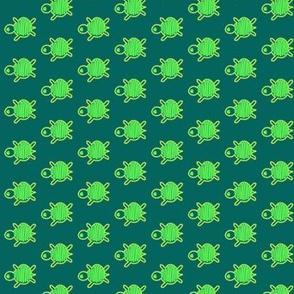 Turtle Race Green