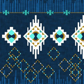 Dream Catcher ( Navy + Aqua)