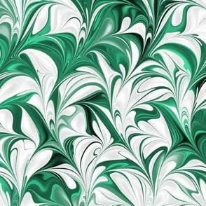 Evergreen-White-Swirl