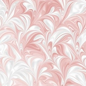 Flamingo-White-Swirl