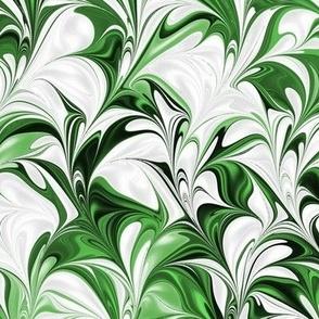 Grass-White-Swirl