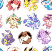 Eeveelutions (small)
