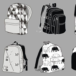 Monochromatic Backpacks