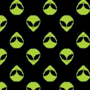 8-bit alien