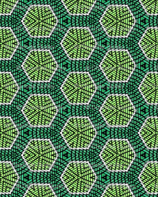 Green Honeycomb