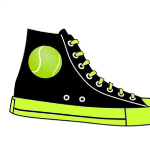 TENNIS SHOE ONE