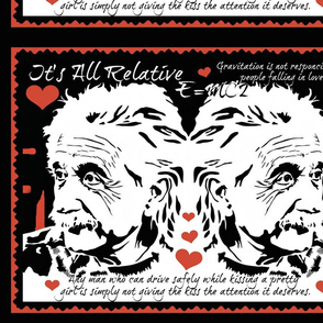 Einstein On Matters Of Love