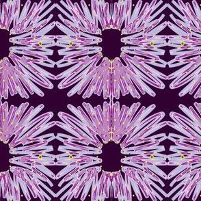 Purple Flower Reverse
