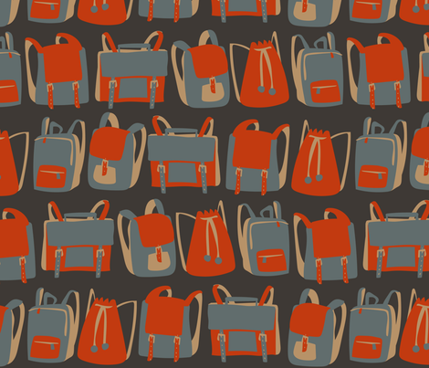 Backpacks fabric by mariaspeyer on Spoonflower - custom fabric