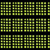 Wonky Yellow Squares
