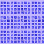 Wonky Purple Squares