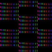 Wonky Neon Squares