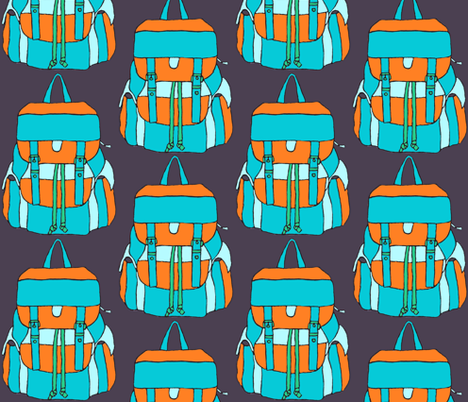 backpack fabric by katesbeads on Spoonflower - custom fabric