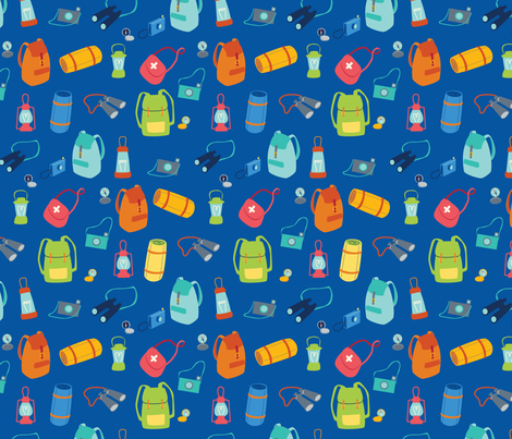 Backpacks and Rucksacks fabric by badger&bee on Spoonflower - custom fabric